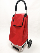 Foldable Trolley Wheel Bag Shopping Portable Cart Folding for Home Travel Luggage