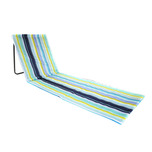 Portable Beach Mat Folding Chair Sun Lounger Outdoor Camping