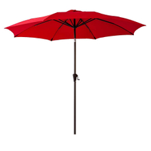 9Ft Market Umbrella Patio Outdoor Table Umbrella with Ventilation,Bonus Weatherproof Cover